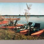 Widokówka Sielpia - Ośrodek sportów wodnych z 1965 roku