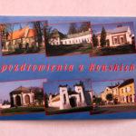 Widokówka - kilka miejsc m.in. okrąglak, widok na ulicę Piłsudskiego, Kościół św. Mikołaja